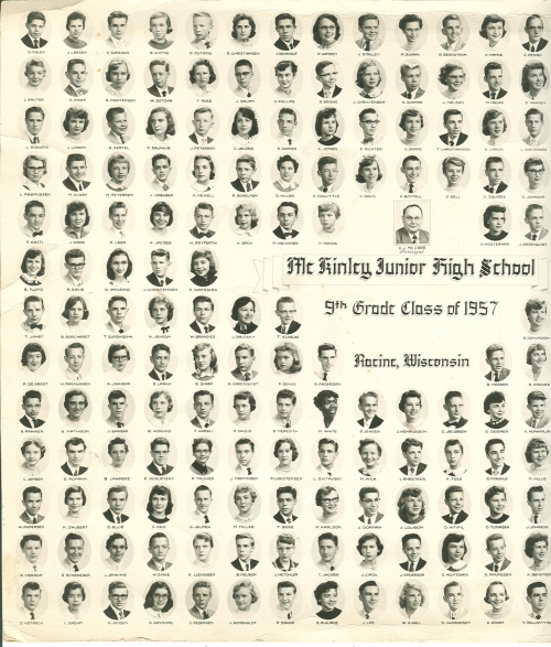 McKinley Jr. High 9th Grade Composite (left side)