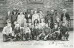 1952-53 HOWELL SCHOOL 6TH GRADE - do you see Tom Worcester, Gordon Flowers, Hanne Andersen?  Who else is on here?