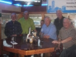 Ken, Tom, Sam, Dave Williams, Dave Webb & Art (the picture is blurred, sorry)