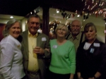 Marilyn, Clay & Karen, Russ & Kathy  I know it is blurred, but it would have been a nice picture...can't fix blurs